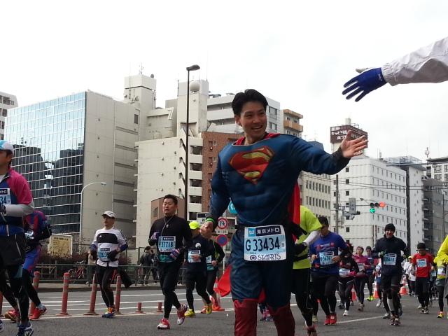 マラソンスーパーマン