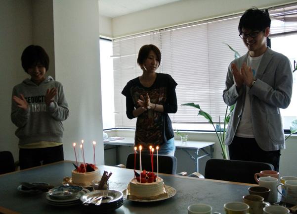 birthday3人