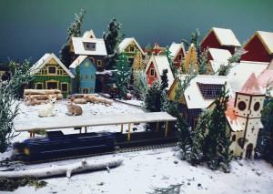 電車_雪景色